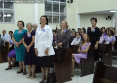 Ex-Presidentes que se dedicaram a Organização e agora em outras Igrejas, estiveram presentes.
