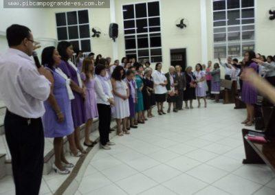 Pr. Celson Varejão faz momento de gratidão por aquelas que lideraram a organização